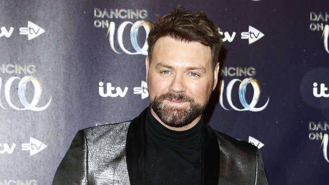 Brian McFadden strikes a pose at the Dancing On Ice 2019 series launch