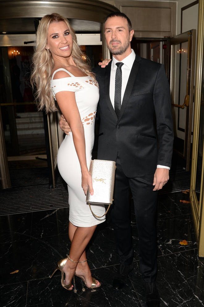 Christine with husband Paddy McGuinness