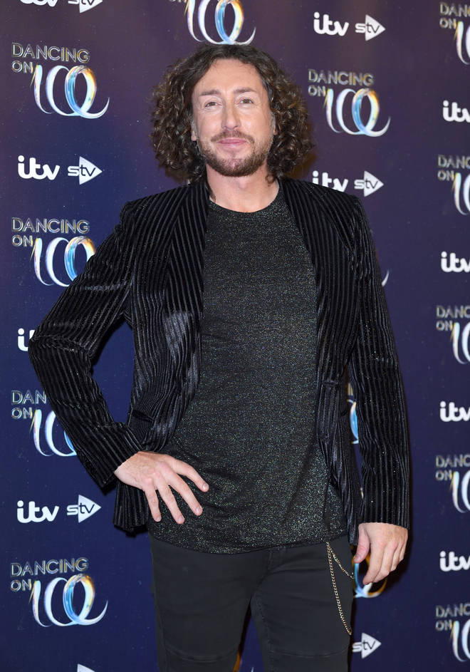 Ryan Sidebottom strikes a pose at the Dancing On Ice 2019 series launch