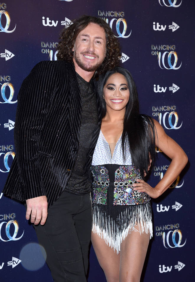 Ryan with pro partner Brandee Malto will participate in Dancing on Ice 2019