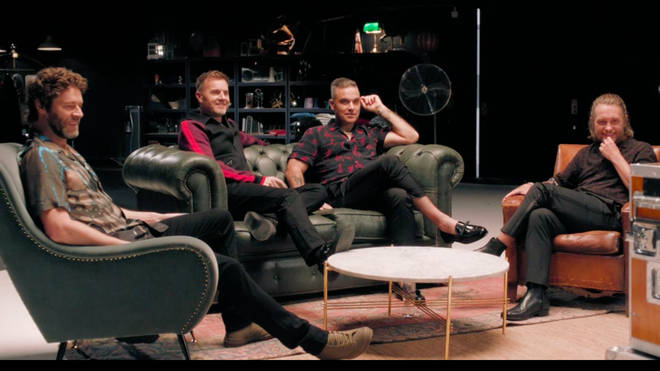 Take That joke about their 90s heyday in new documentary