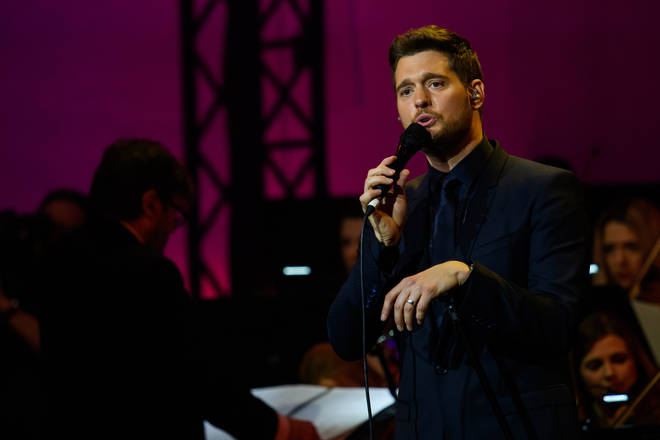 Michael Buble Performs At Telekom Street Gigs In Munich