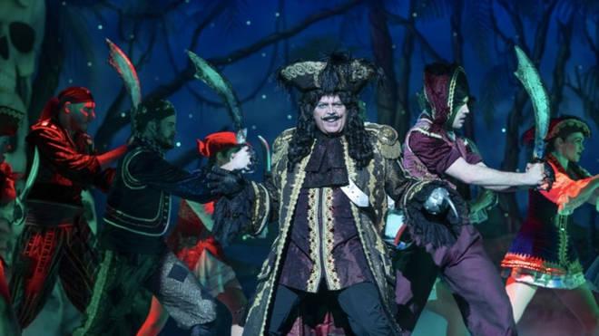 Jimmy Osmond as Captain Hook in Peter Pan
