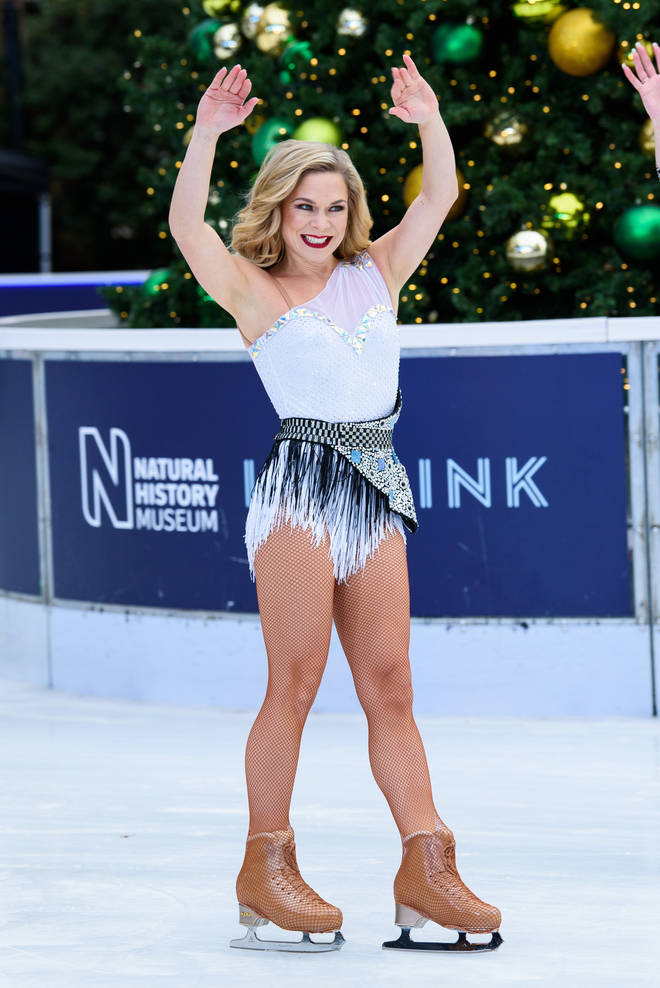 Dancing On Ice professional Alexandra Schauman