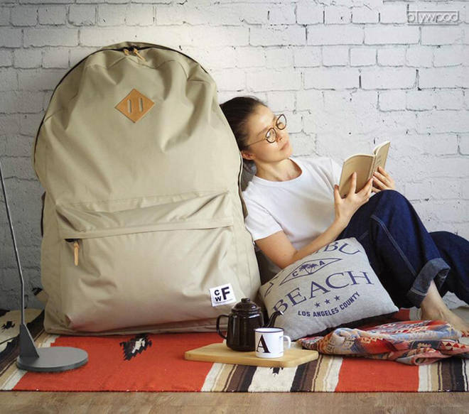 Do YOU need a backpack big enough to fit your whole body in?