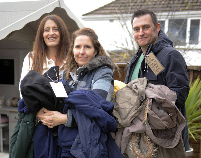 Kind-hearted Plymouth friends help keep rough sleepers warm