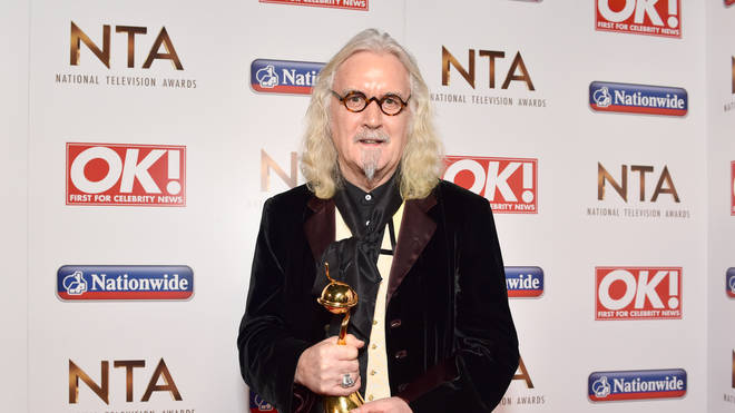 Billy Connolly has become a British legend thanks to his comedy, acting and music