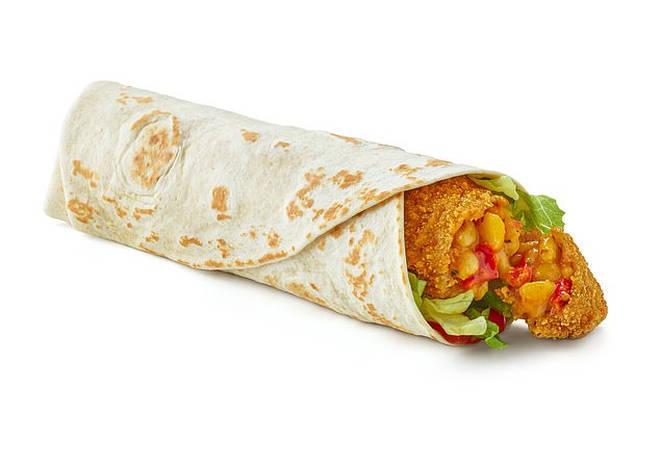 McDonald's launch The Happy Meal Veggie Wrap