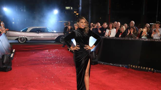 Jennifer Hudson takes to the red carpet