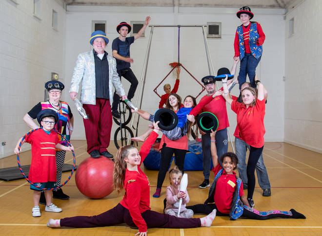 The Salisbury Circus Club give kids a much-needed confidence boost