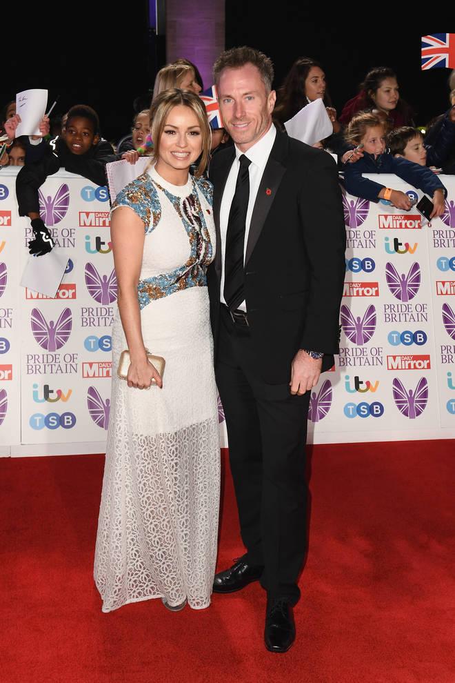 James Jordan and Ola at the Pride of Britain Awards