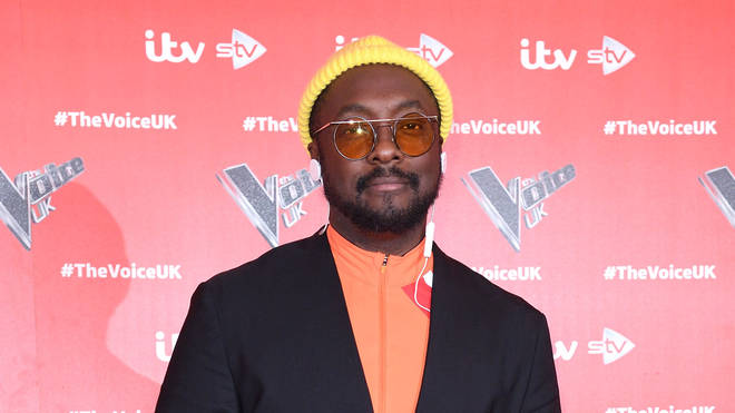 will.i.am attending the launch of The Voice 2019