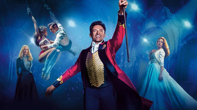 The Greatest Showman stars Hugh Jackman and was released in 2017