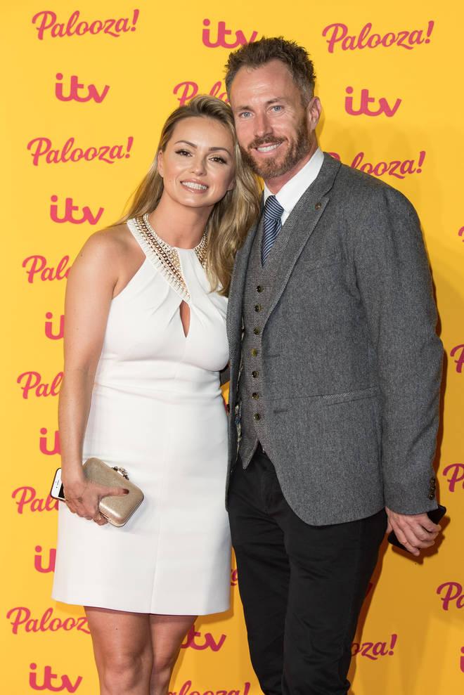 James Jordan and Ola at ITV Palooza! - Red Carpet Arrivals
