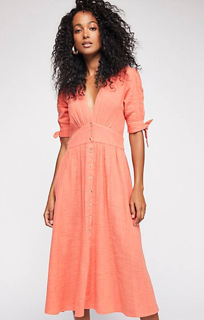 Love Of My Life Midi Dress - Free People
