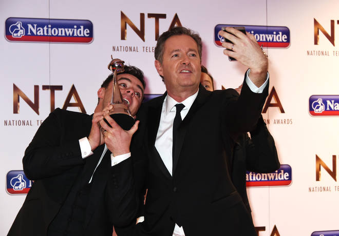 Piers and Ant at the NTAs in 2016