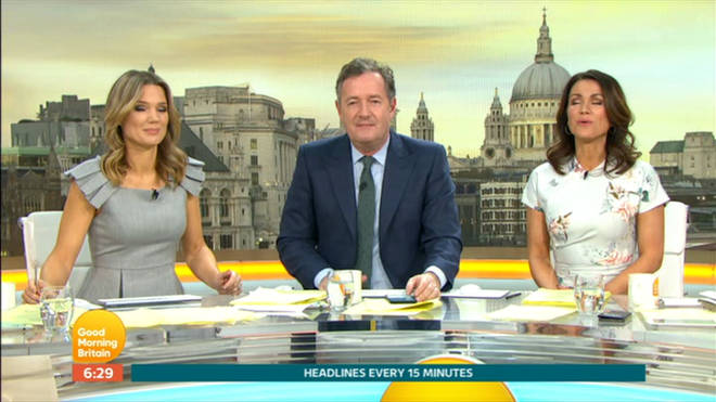 Piers went in on Ant McPartlin during the show this morning