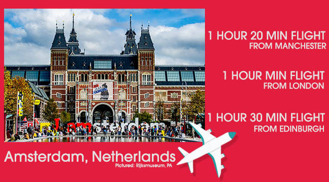 Amsterdam is a bustling city come day or night
