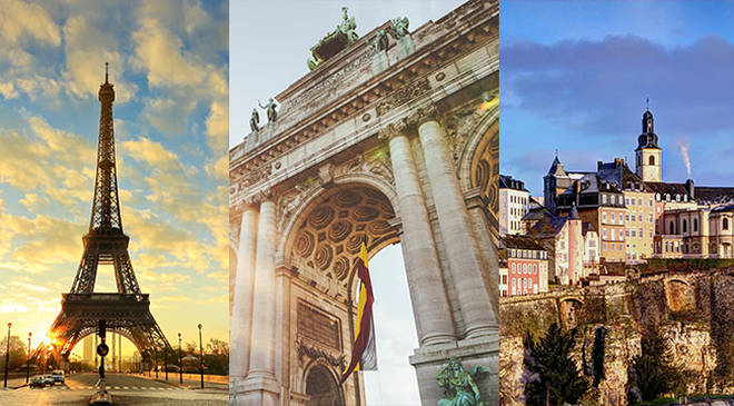 There are plenty of romantic destinations only a short flight away