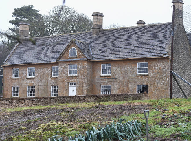 Prince Harry and Meghan Cotswold home