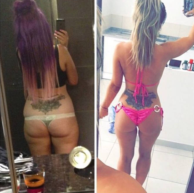 Holly Hagan weight loss before and after