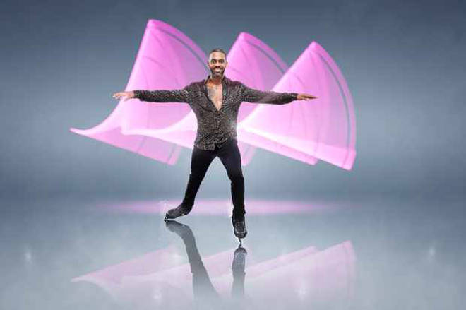 Richard Blackwood could have the upper hand in this year's Dancing On Ice