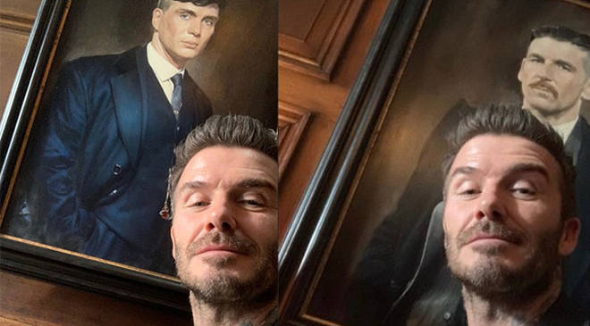 David Beckham spotted on the set of Peaky Blinders
