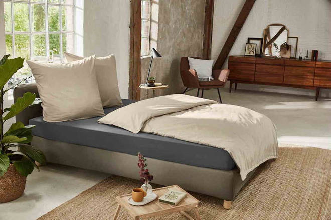 Lidl's new organic range of bed linen is a bargain price