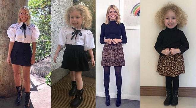 Holly Willougby is three year old Hollie's style icon