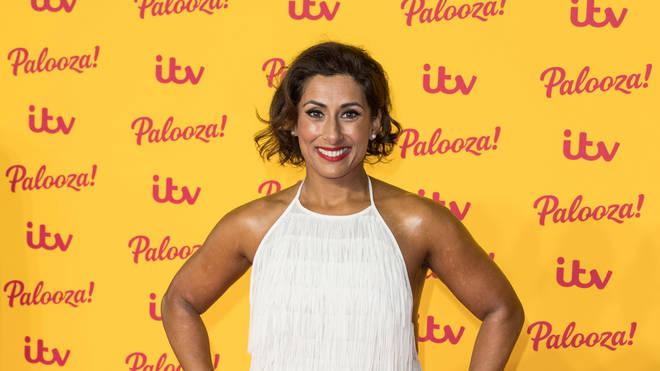Saira Khan at the ITV Palooza! - Red Carpet Arrivals