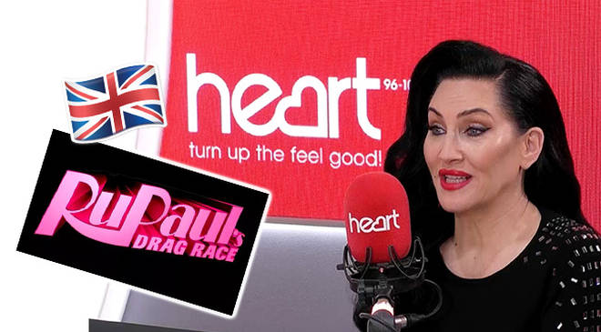 Michelle Visage has kept tight lipped about her role on UK drag race