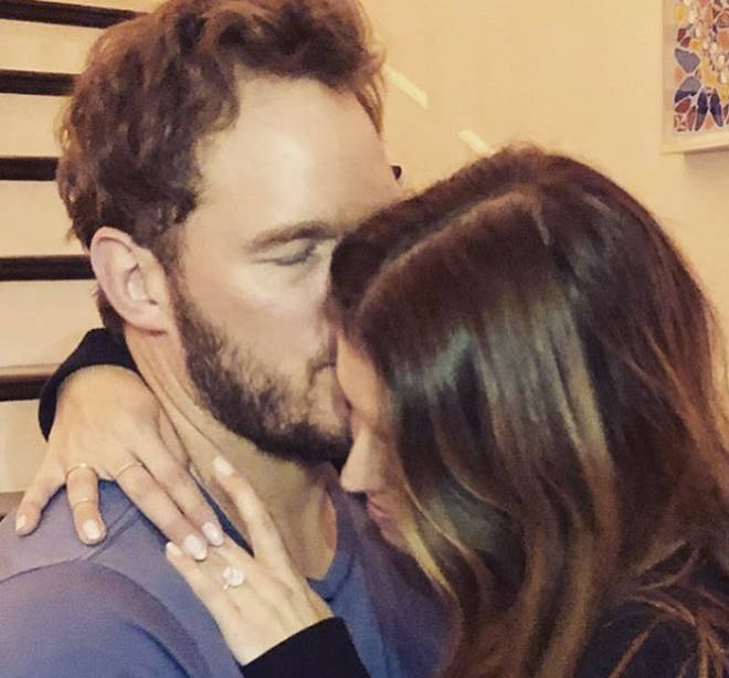 Chris Pratt has proposed to Katherine after just seven months