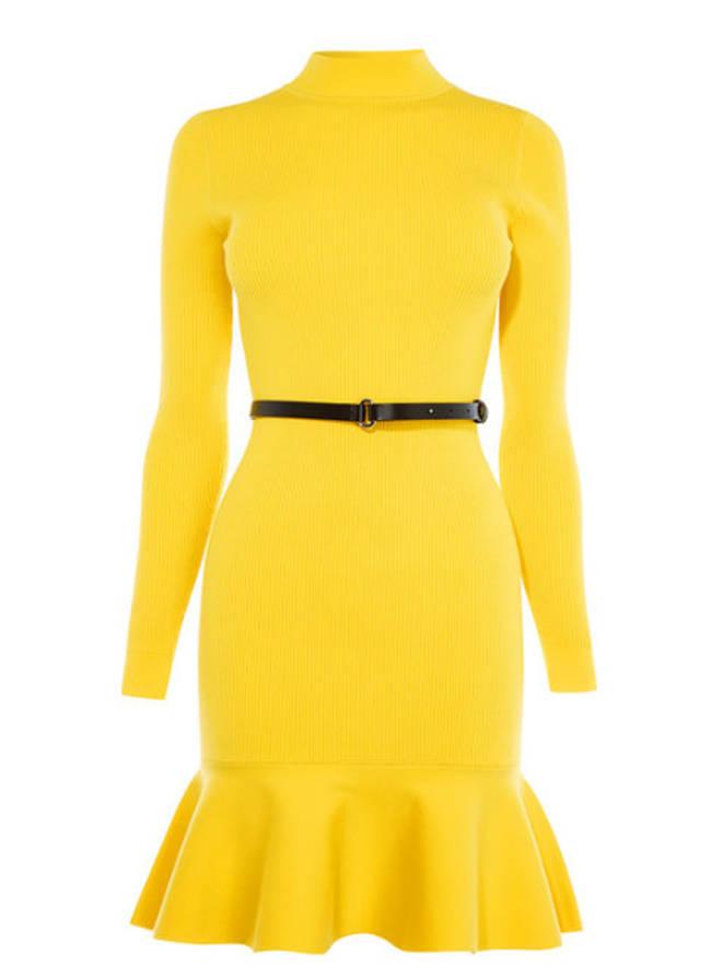 Holly Willoughby wears Karen Millen dress