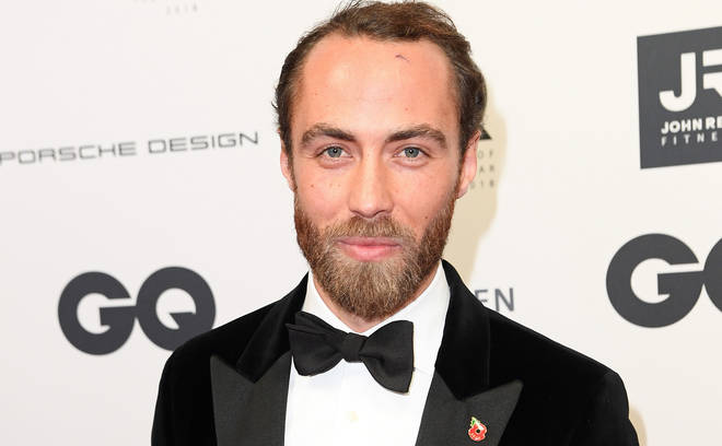 James Middleton is the younger brother of Kate and Pippa Middleton