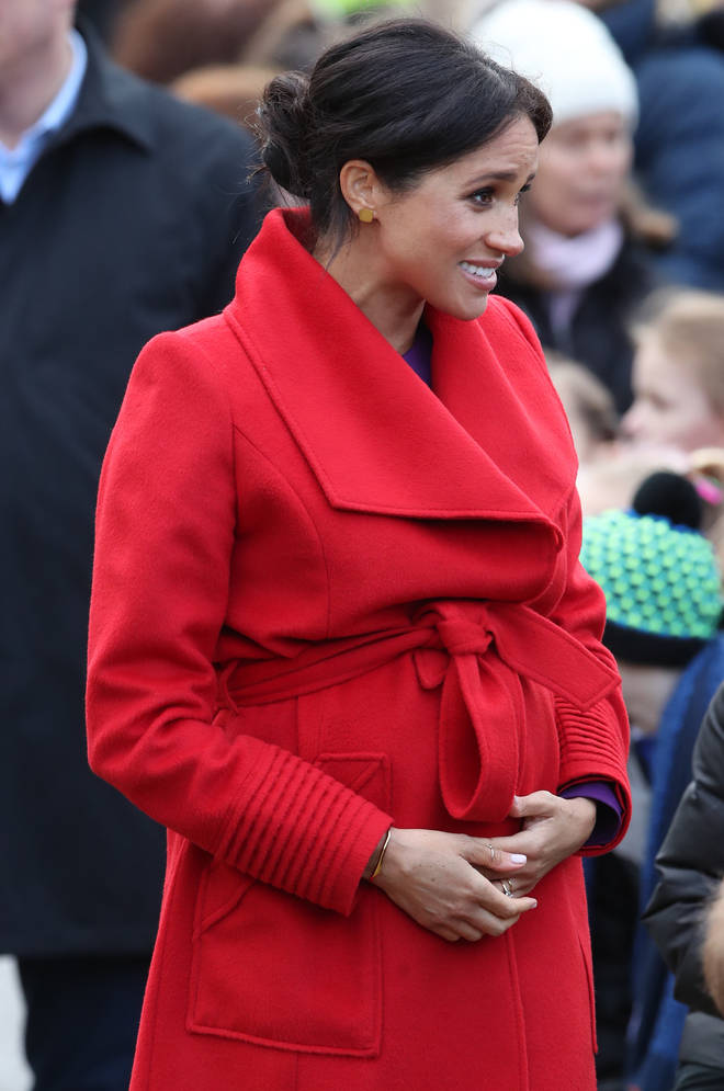 Meghan Markle in Birkenhead with Prince Harry