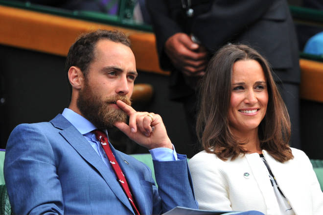 James Middleton and sister Pippa Middleton