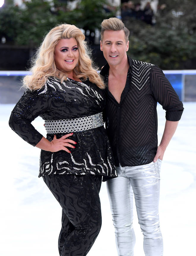 Matt Evers is partnered with Gemma Collins