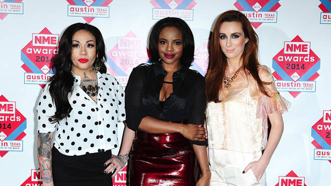 Mutya pictured with fellow original Sugababes Keisha and Siobhan in  2014