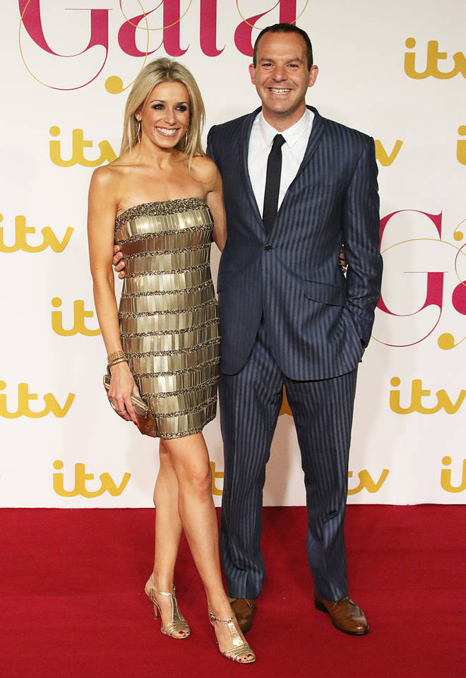 Celebrities Attend ITV Gala At The London Palladium