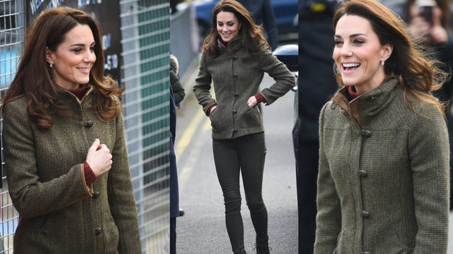 Kate Middleton visits Islington gardens