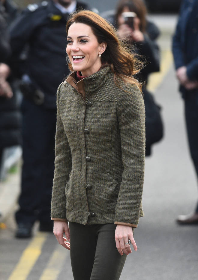Kate Middleton arrives in Islington