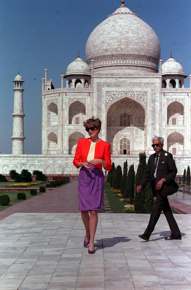 Princess Diana in India, 1992