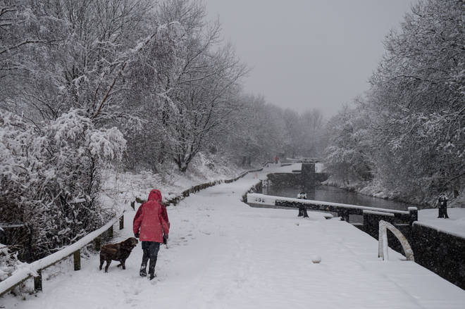 Britain could be subjected to a 2019 version of last year's 'Beast From The East' within days
