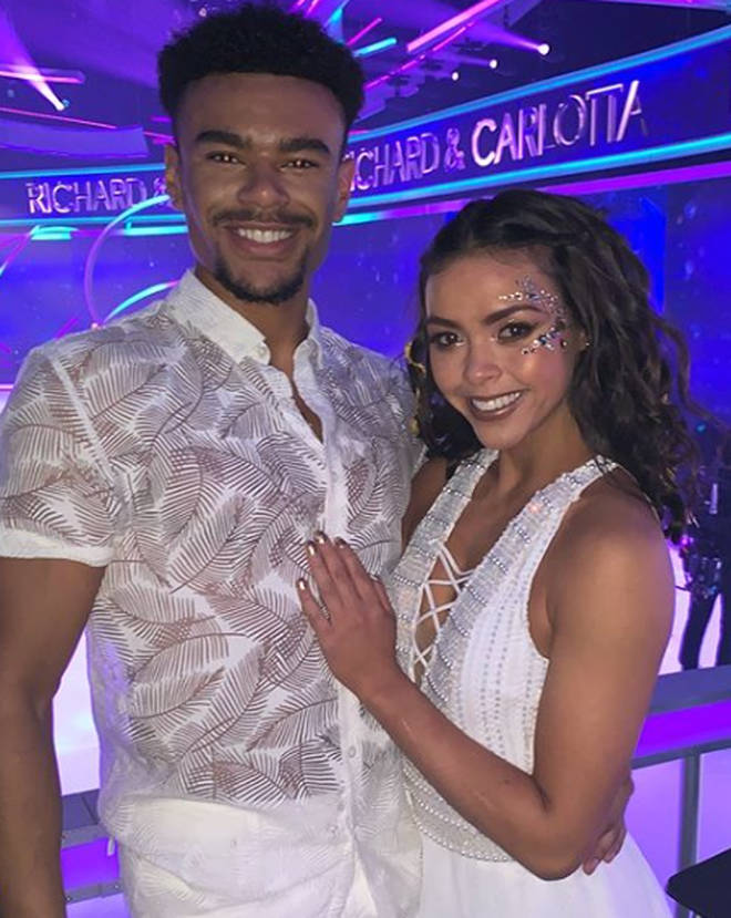 Wes Nelson and Vanessa Bauer on Dancing On Ice