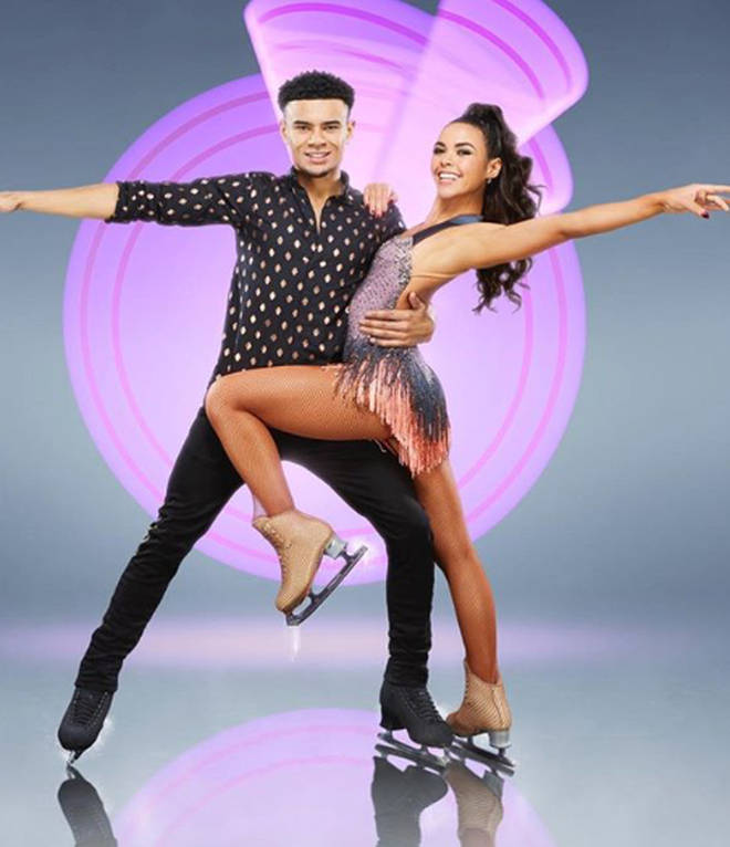 Dancing On Ice's Vanessa Bauer and Wes Nelson