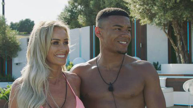 Laura and Wes were coupled up at the start of Love Island