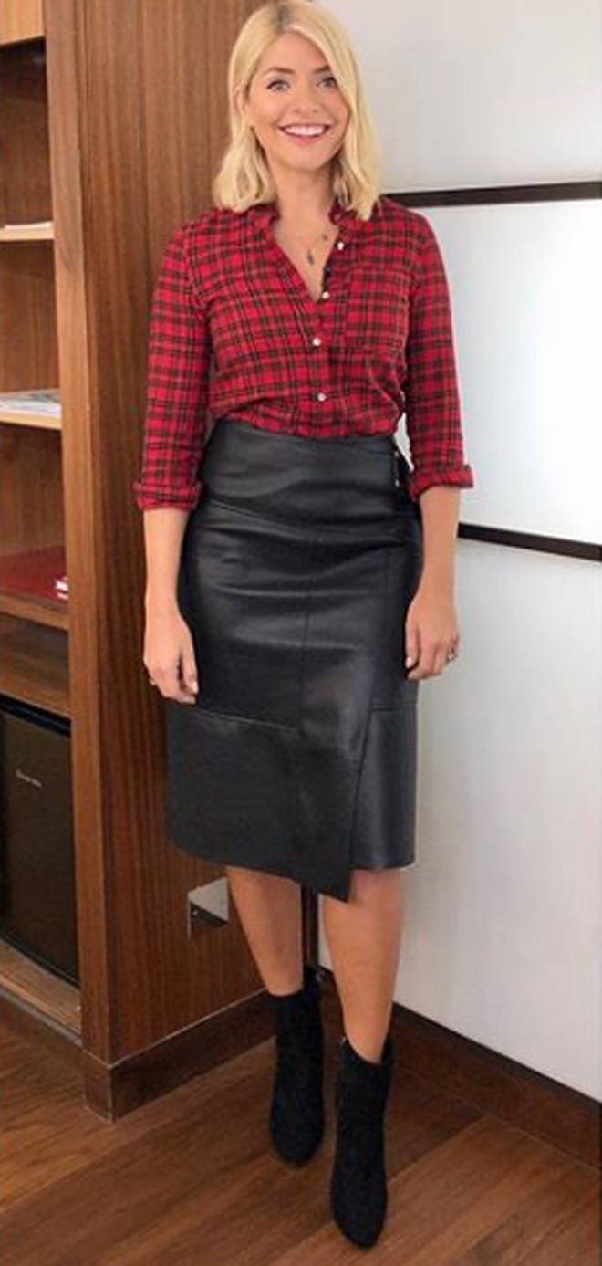 This Morning Holly Willoughby outfit