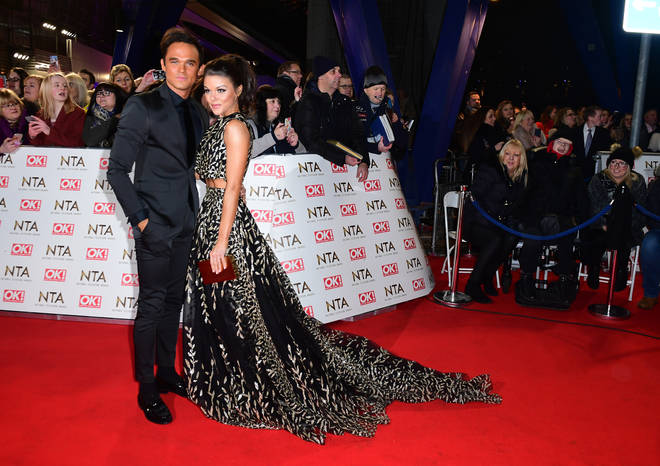 Faye and Gareth pictured at the NTA's