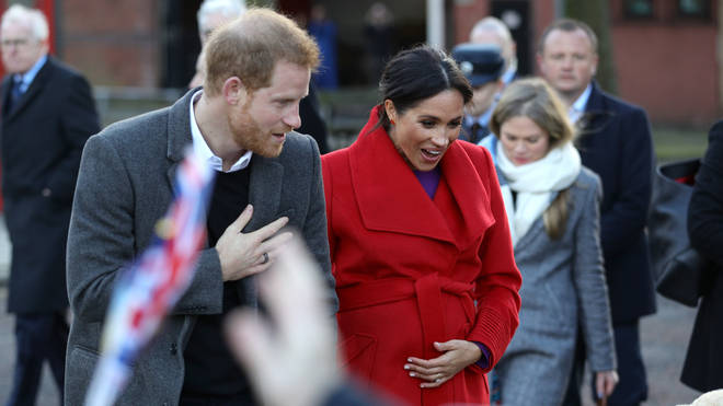 Meghan Markle's due date isn't clear but her bump is certainly growing