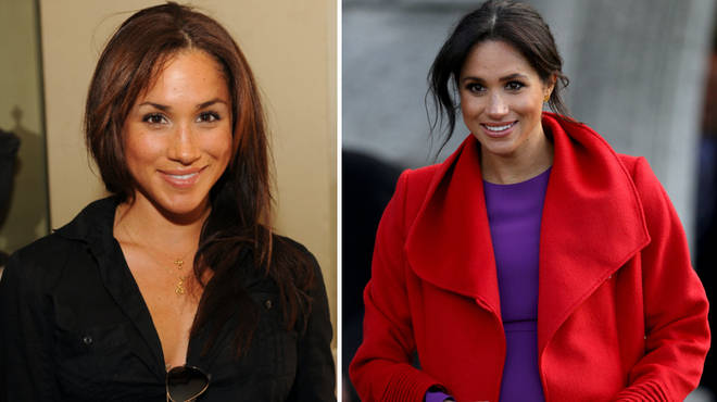 Meghan Markle before and after